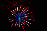 Gilford Old Home Day Fireworks display August 27, 2011.