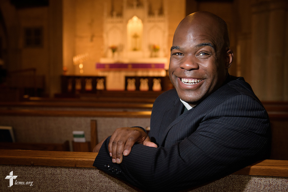 Portrait of the Rev. Gregory T. Manning, pastor of Gloria Dei Lutheran Church, on Thursday, March 10, 2016, in New Orleans. LCMS Communications/Erik M. Lunsford