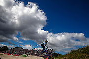 BMX Qualification, Elke Vanhoof (Belgium) during the Cycling European Championships Glasgow 2018, at Glasgow BMX Centre, in Glasgow, Great Britain, Day 9, on August 10, 2018 - Photo luca Bettini / BettiniPhoto / ProSportsImages / DPPI<br /> - Restriction / Netherlands out, Belgium out, Spain out, Italy out -