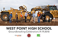 Chasse Building Team - West Point High School Groundbreaking Event