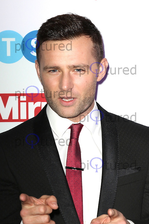 Harry Judd, Pride of Sport Awards, Grosvenor House Hotel, London UK, 07 December 2016, Photo by Richard Goldschmidt