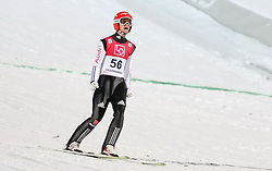 11.12.2016, Lysgards Schanze, Lillehammer, NOR, FIS Weltcup Ski Sprung, Lillehammer, im Bild Markus Eisenbichler (GER) // Markus Eisenbichler of Germany during Mens Skijumping of FIS Skijumping World Cup at the Lysgards Schanze in Lillehammer, Norway on 2016/12/11. EXPA Pictures © 2016, PhotoCredit: EXPA/ Tadeusz Mieczynski