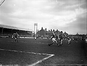 1958 - Soccer, First round of FAI Cup: Drumcondra v Limerick