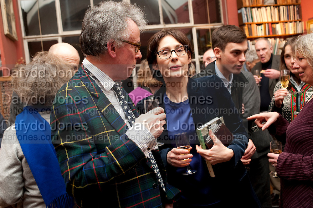 ANDREW BARROW; MARCHIONESS OF NORMANBY, Party to celebrate the publication of Animal Magic by Andrew Barrow. Tite St. London. 28 February 2011.  -DO NOT ARCHIVE-© Copyright Photograph by Dafydd Jones. 248 Clapham Rd. London SW9 0PZ. Tel 0207 820 0771. www.dafjones.com.