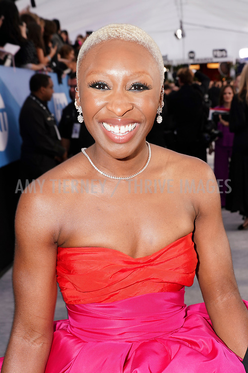 Actress Cynthia Erivo