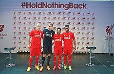 150410 Liverpool New Balance Kit Launch