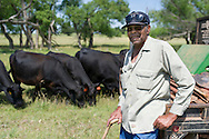 Ruelle Kinslow, a cow-calf operator who also raises rye, works the family farm in Kingfisher County, which was passed down from his parents. He is assisted by his wife, Almetrice, and the couple&rsquo;s daughter Fachaitte and two sons. <br /> Ruelle Kinslow<br /> Fachaitte Kinslow, daughter<br /> Almetrice Kinslow, wife/mother