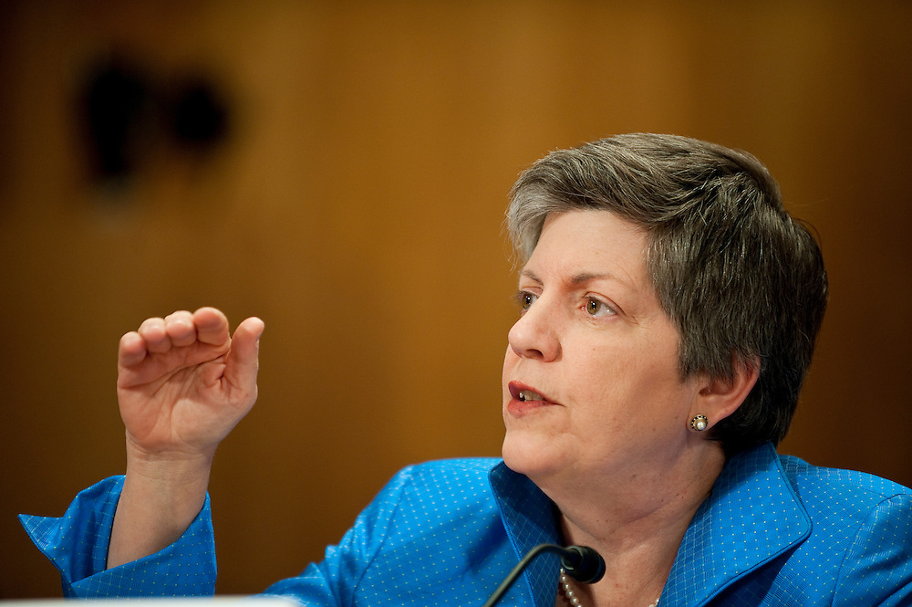 May 17,2010 - Washington, District of Columbia USA - Secretary of Homeland Security, Janet Napoitano testifies before the Senate Committee on Homeland Security and Government Affairs about the response to the Deepwater Horizon Oil spill.(Credit Image: © Pete Marovich/ZUMA Press)