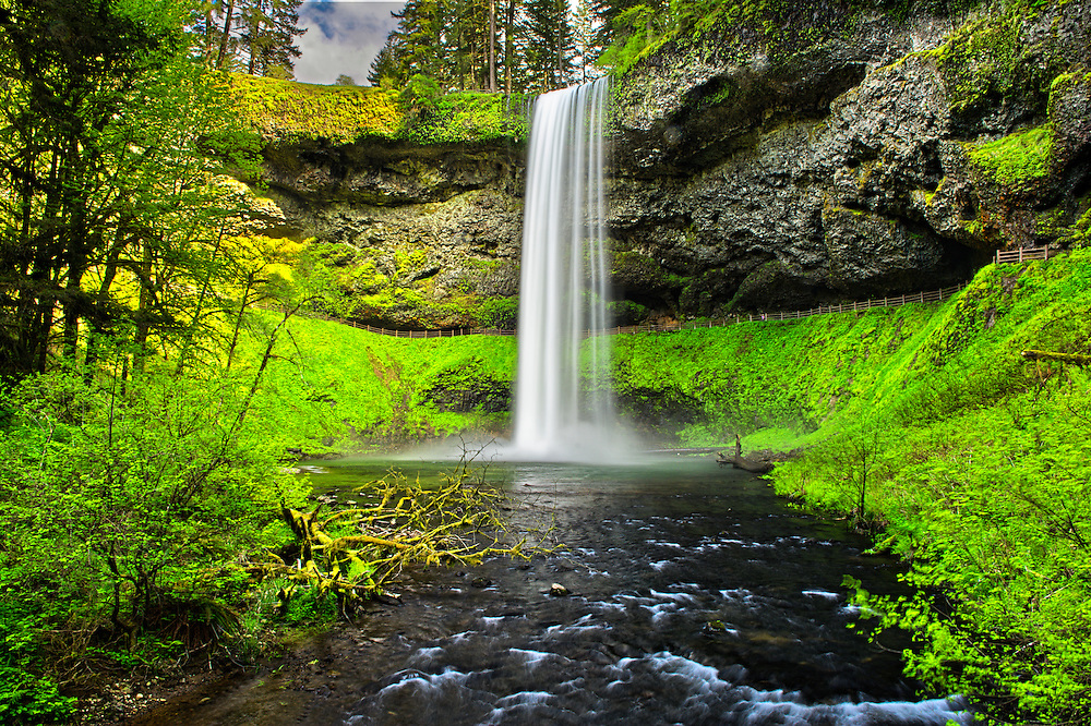 South Falls, Silver falls state park, OR.