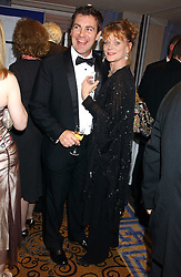 Actress SAMANTHA BOND and her husband actor ALEX HANSON at a ball in aid of Cystic Fibrosis Trust held at the London Marriott, Grosvenor Square, London on 28th October 2005.<br /><br />NON EXCLUSIVE - WORLD RIGHTS