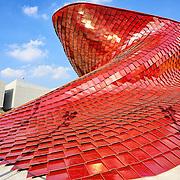 Padiglione del gruppo immobiliare cinese Vanke. Disegnato da Daniel Libeskind, è stato realizzato al 100% dalla italiana Bodino Engineering di Torino<br /> <br /> Expo2015 Milano 5/05/2015