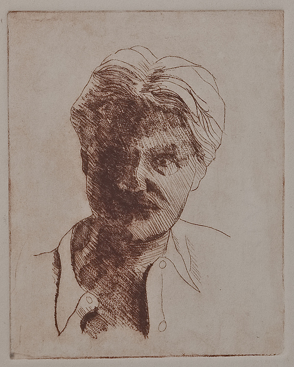 JEAN-CLAUDE REYNAL, etching and drypoint 1990
