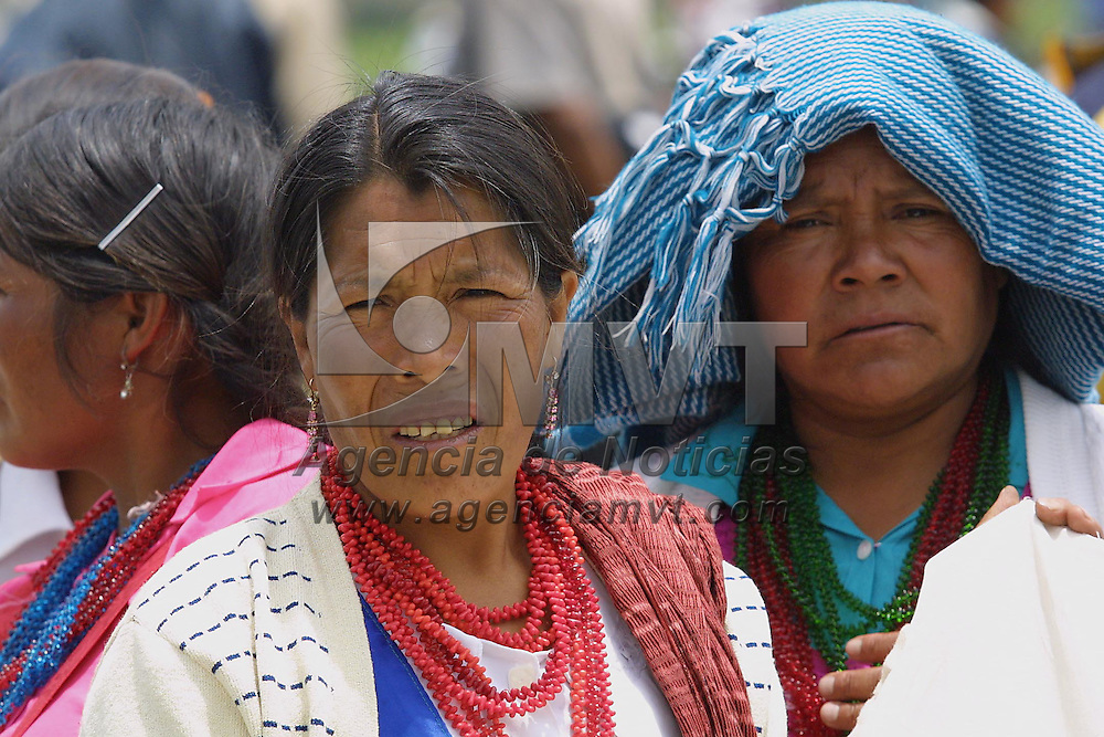 San Felipe del Progreso, M&eacute;x.- Mujeres Mazahuas de San Felipe del Progreso. Agencia MVT / Mario V&aacute;zquez de la Torre. (DIGITAL)<br /> <br /> NO ARCHIVAR - NO ARCHIVE