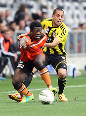 Dunedin-Football, A-League, Phoenix v Brisbane Roar