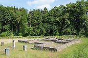 römisches Kastellbad bei Walldürn, Odenwald, Baden-Württemberg, Deutschland | Roman fort bath in Walldürn, Odenwald, Baden-Württemberg, Germany