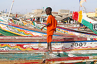 Senegal, Saint Louis du senegal, Patrimoine mondial de l UNESCO. // Senegal, city of Saint Louis, Unesco World Heritage.