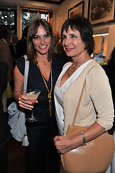 Left to right, FRANCESCA BOOTHBY and her mother LADY GEORGIANA BOOTHBY at a party to celebrate the launch of the new Mauritius Collection of jewellery by Forbes Mavros held at Patrick Mavros, 104-106 Fulham Road, London SW3 on 5th July 2011.