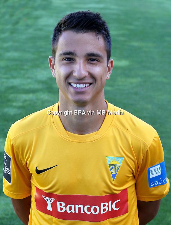 """Portugal - Primera Liga NOS 2015-2016 /  <br /> ( GD Estoril Praia ) - <br /> Matheus Cotulio Bossa """" Matheuzinho """""""