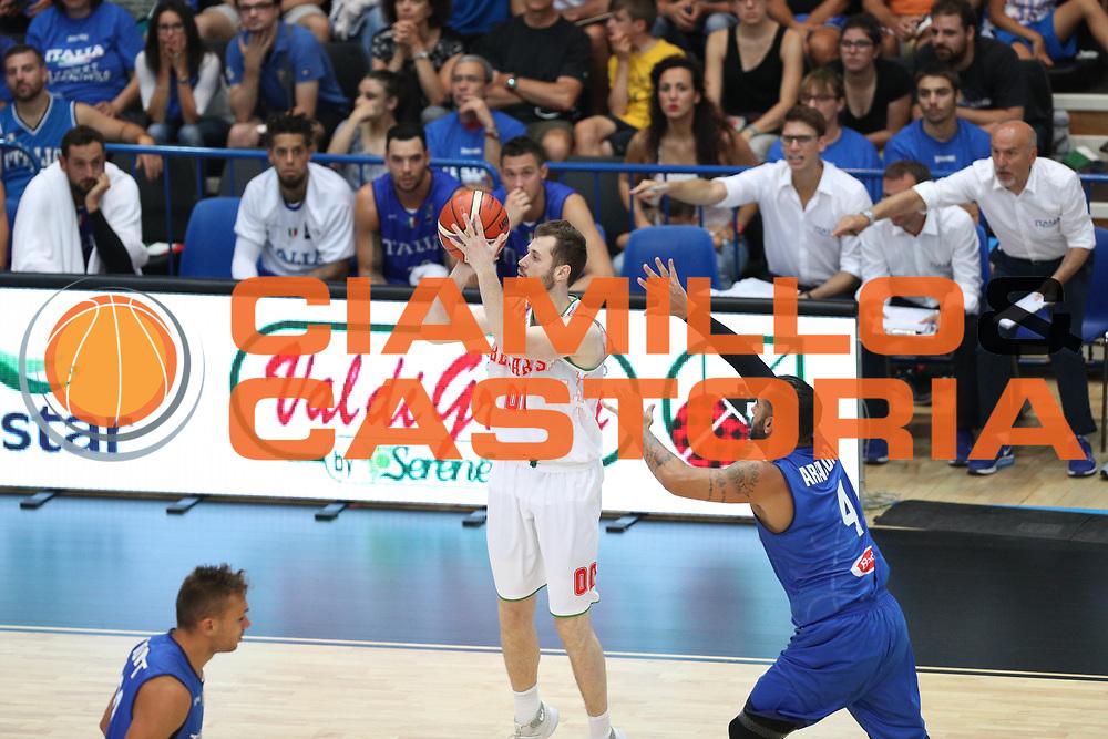 , Nazionale italiana maschile senior - Trentino basket cup 2017 ITALIA - BIELORUSSIA ITALY BELARUS, FIP 2017, Trento 29/07/2017 foto Ciamillo-Castoria/Bertani