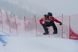 TUDHOPE Ben, Snowboarder Cross, 2015 IPC Snowboarding World Championships, La Molina, Spain