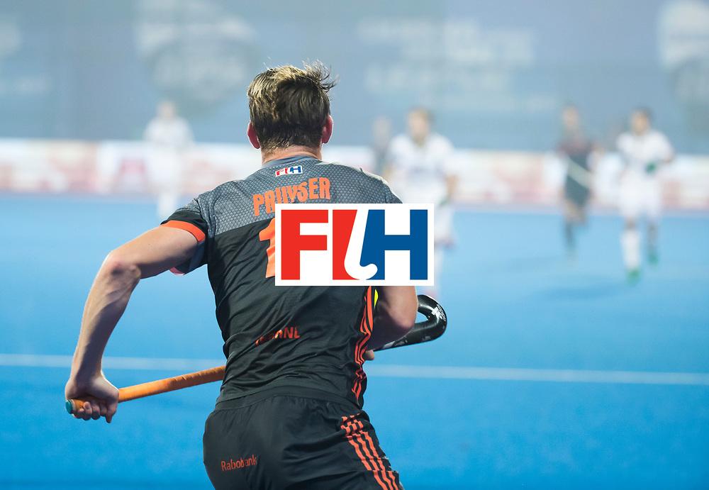 BHUBANESWAR - Mirco Pruyser (Ned)   tijdens de Hockey World League Final wedstrijd Belgie-Nederland (3-0).   COPYRIGHT KOEN SUYK