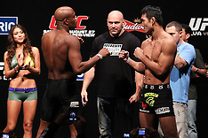 August 26, 2011: UFC 134 in Rio - Weigh-Ins