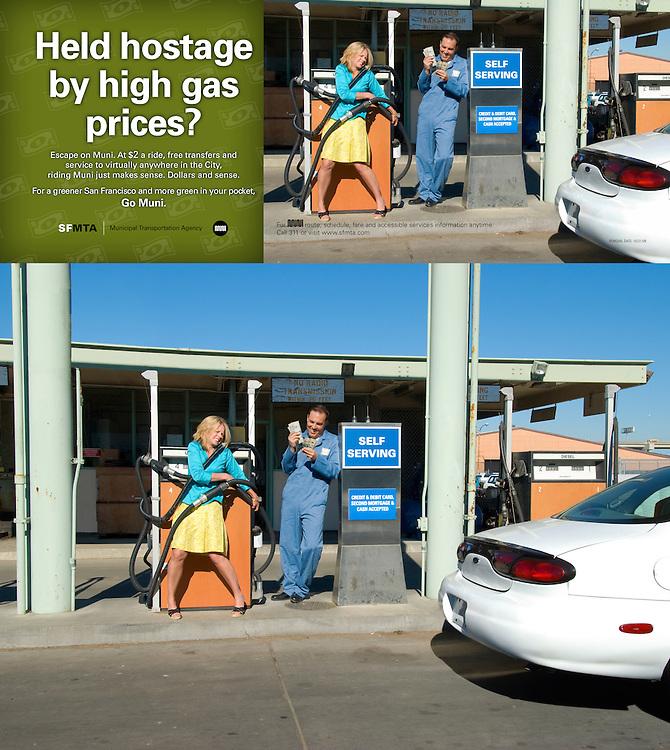 2009 SFMTA Gas Ad Campaign