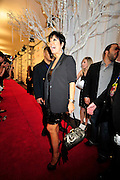 Kris Kardashian Jenner sucks up the sunshine on the red carpet  at Kim 's Super Bowl Bash Leather & Lace Super Bowl Party Friday night Feb 5,2010. Photo©Suzi Altman/SuziSnaps