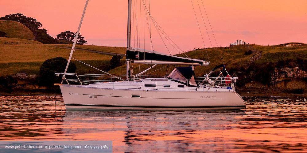 Celeste at Mercury Island.