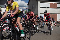 Sofie De Vuyst (BEL) of Parkhotel Valkenburg Cycling Team corners on Stage 2 of 2019 Festival Elsy Jacobs, a 111.1 km road race starting and finishing in Garnich, Luxembourg on May 12, 2019. Photo by Balint Hamvas/velofocus.com