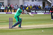 Andrew Balbirnie of Ireland during the One Day International match between England and Ireland at the Brightside County Ground, Bristol, United Kingdom on 5 May 2017. Photo by Andrew Lewis.
