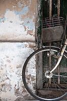 A bicycle in Stone Town, Zanzibar, Tanzania