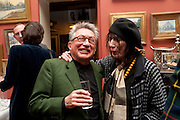 KASMIN; HENRIETTA GARNETT, Party to celebrate the publication of Animal Magic by Andrew Barrow. Tite St. London. 28 February 2011.  -DO NOT ARCHIVE-© Copyright Photograph by Dafydd Jones. 248 Clapham Rd. London SW9 0PZ. Tel 0207 820 0771. www.dafjones.com.