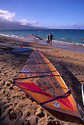 Windsurfer, Kanaha Beach, Maui, Hawaii<br />