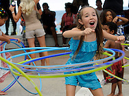 Hula hoops Great American Beach Party