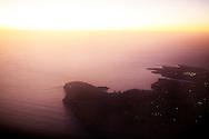 Lampedusa, Italia - Veduta aerea dell'isola di Lampedusa. <br /> Ph. roberto Salomone