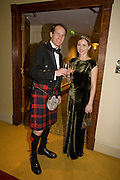 ALASTAIR KEIR AND IRINA TOWNSEND, The Royal Caledonian Ball 2008. In aid of the Royal Caledonian Ball Trust. Grosvenor House. London. 2 May 2008.  *** Local Caption *** -DO NOT ARCHIVE-© Copyright Photograph by Dafydd Jones. 248 Clapham Rd. London SW9 0PZ. Tel 0207 820 0771. www.dafjones.com.