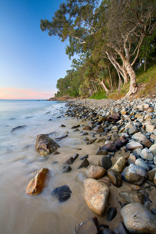 The classic beauty of Noosa Heads National Park shows why it's such a popular spot.