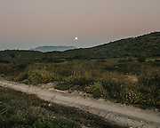 A winter moon sets over the hills of Iguala. Twenty-two thousand people have been reporting missing in Mexico. Human rights groups suspect the number is much higher. Although some are kidnapped for ransom in Iguala people suspect those who don't require ransom were taken to work in cartel forced labor camps or simply murdered.