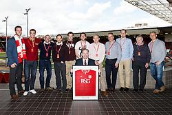 Match Sponsor - Mandatory byline: Rogan Thomson/JMP - 30/04/2016 - FOOTBALL - Ashton Gate Stadium - Bristol, England - Bristol City v Huddersfield Town - Sky Bet Championship.