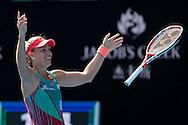 Angelique Kerber, Australian Open 2016<br /> <br /> Tennis - Australian Open 2016 - Grand Slam ITF / ATP / WTA -  Melbourne Park - Melbourne - Victoria - Australia  - 28 January 2016.