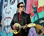 Portrait of native Atlantan & musician Butch Walker at 7 stages before a concert.