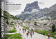 Maratona Dles Dolomites<br /> RCS Sportweek 2017.07.08<br /> page 56, 57