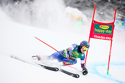 Tommy Ford of USA competes during 1st run of Men's GiantSlalom race of FIS Alpine Ski World Cup 57th Vitranc Cup 2018, on March 3, 2018 in Kranjska Gora, Slovenia. Photo by Ziga Zupan / Sportida