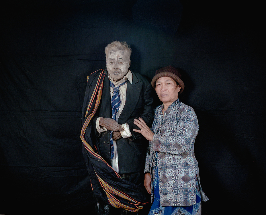 Ludia Pindan (60) with her husband, Markus Tombang, who died in 2016 at age 64.  They were married for over 43 years.<br />