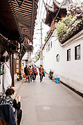 Shanghai Old Street (Lao Jie) area