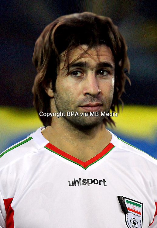 Football Fifa Brazil 2014 World Cup / <br /> Iran National Team - <br /> Hadi Aghili of Iran