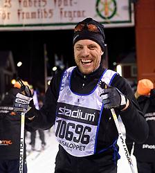 06-03-2016 SWE: Vasaloppet Challenge BvdGF day 7, Sälen<br /> Vandaag een rustig dagje, 90 km langlaufen van Sälen naar Mora in bizarre omstandigheden / Daniel