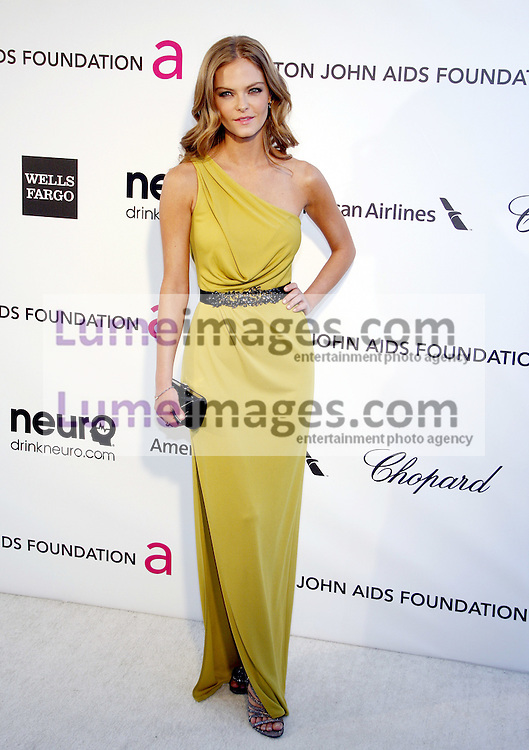 Jessica Perez at the 21st Annual Elton John AIDS Foundation Academy Awards Viewing Party held at the Pacific Design Center in West Hollywood on February 24, 2013 in Los Angeles, California. Credit: Lumeimages.com