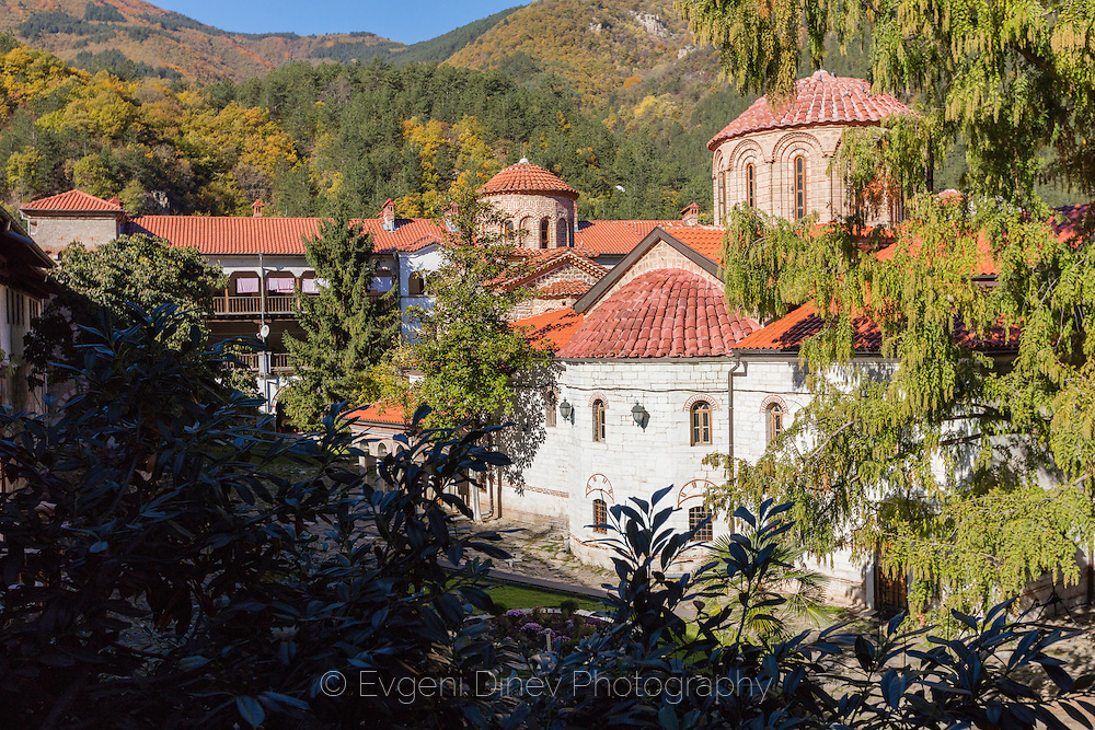 Bachkovski monastery in autumn